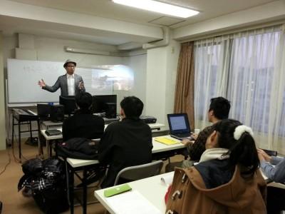 東京DTM作曲音楽学校 第一期生入学説明会 授業シーン