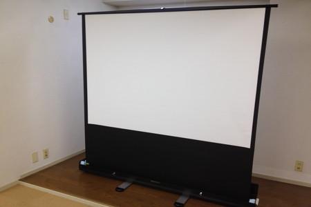 【学校通信】DTM授業がパワーアップ!スクリーン導入!01
